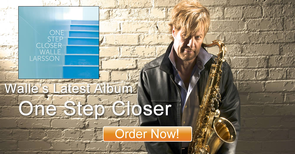 One Step Closer Album by Walle Larsson